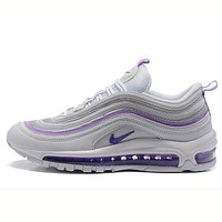Tagre™ NIKE AIR MAX 97 Trending Running Sport Couple Sneakers Shoes Purple I