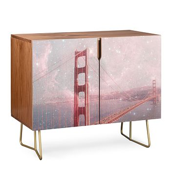 Bianca Green Stardust Covering San Francisco Credenza