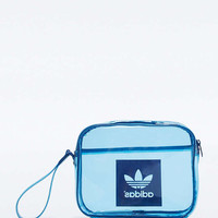 adidas Originals Airliner Transparent Blue Clutch - Urban Outfitters