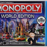 Hasbro Monopoly Here and Now World Edition