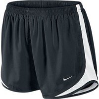 Women's Nike Tempo Track Running Shorts Black/White at Sport Seasons