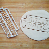 StarWars Cookie Cutter Made From Biodegradable Material / Brand New / Party Favor / Kids Birthday / Baby Shower / Cake Topper