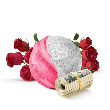 Fresh Cut Roses Cash Bath Bomb