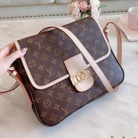 LV Louis Vuitton Popular Women Shopping Bag Leather Satchel Crossbody Shoulder Bag Messenger Bag