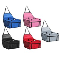 Folding Vehicle Pet Carrier Safety Mesh Dog Car Seat Protector For Most Cars SUV Prevent Dogs Access to The Front Seats