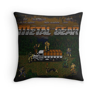 'Gear Metal' Throw Pillow by likelikes