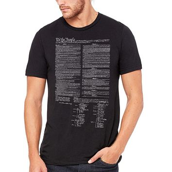 Constitution Tri-Blend Short Sleeve Graphic T-Shirt
