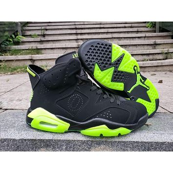 Air Jordan 6 Retro Black/Green