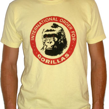 International Order for Gorillas T-Shirt | Chris Knight | Real Genius