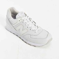 New Balance 574 Whiteout Running Sneaker- White
