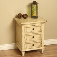 Emily Bedside Table (Indonesia) | Overstock.com