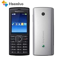 100% Original Unlocked Sony Ericsson j108i Mobile Phone 3G Bluetooth FM J108 Cell Phone Fr...