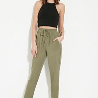Contemporary High-Waist Pants