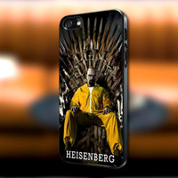 Heisenberg Breaking Bad iPhone case, Heisenberg Breaking Bad Samsung Galaxy s3/s4 case, iPhone 4/4s case, iPhone 5 case