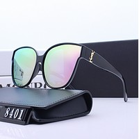 YSL Yves Saint Laurent Fashion Women Summer Sun Shades Eyeglasses Glasses Sunglasses 8401