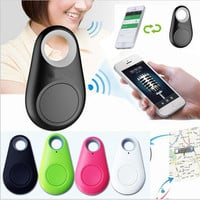 Hot Smart Bluetooth Finder Tracer Pet Child GPS Locator Tag Alarm Wallet Key-Tracker New Fashion