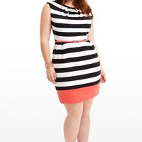 Plus Size Outside the Lines Dress | Fashion To Figure