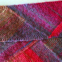 Scarf, Knit, Rainbow, Multicolor, Triangle, Stripes, Colorful, Prism