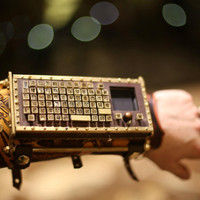 FUNCTIONAL Typewriter Arm Guard with Bluetooth and Touchpad