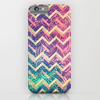 3D Chevron - for iphone iPhone & iPod Case by Simone Morana Cyla