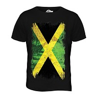Candymix Jamaica Grunge Flag Men's Fashion T-shirt