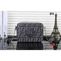Fendi Tide brand double F letter embossed female camera bag shoulder bag Messenger bag #4