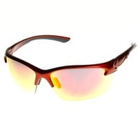 Extreme Sports Shatterproof TR-90 Half Frame Sports Sunglasses