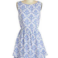 Porcelain Style Dress | Mod Retro Vintage Dresses | ModCloth.com