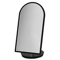 "Counter Top Mirror; Black 7""Wx14""H Rotates 360 Degrees"