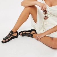 Sofie Schnoor studded strappy sandals at asos.com