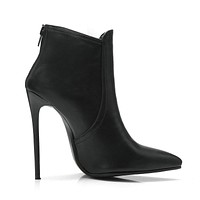 Women Fashion Sexy Ankle Boots 12cm Super High Heel Women Casual Party Shoes