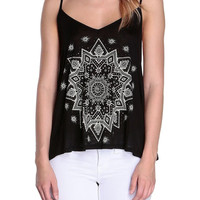 Cosmic Print Camisole-FINAL SALE