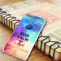 Keep Calm And Love Nash Grier iPhone 6 Plus | iPhone 6S Plus Case