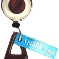 Grateful Dead Steal Your Face Lighter Leash with Carabiner Clip SYF