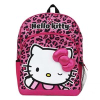Hello Kitty Animal Print Backpack - Kids (Pink)