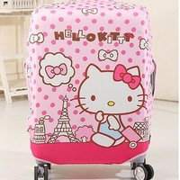 1 Pcs Hello Kitty My Melody Twin Stars Stitch Luggage Dust-Proof Cover Travel Luggage Tie Bandage Do Not Including The Bag