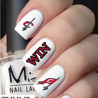 Cleveland Cavaliers Basketball Nail Decals