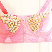 Studded Tank (For High Wasted Shorts)