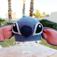 Stitch ish Hat Super Cute Disney Lilo & Stitch by littlepopos