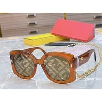 Fendi 2021 Fashion Sunglasses Woman Summer Sun Shades Eyeglasses Glasses