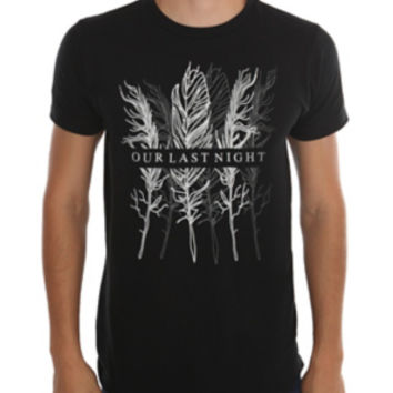 Our Last Night Feathers T-Shirt