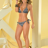 Aquaroma Limited Edition Animal Print Bikini Set