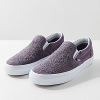 Vans Hairy Suede Classic Slip-On Sneaker | Urban Outfitters