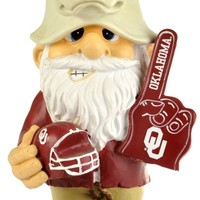 "Oklahoma Sooners Garden Gnome 11"" Thematic  Second String"