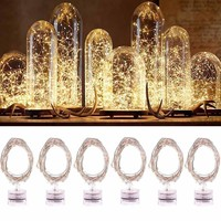 2M String Fairy Light 20 LED Battery Operated Xmas Lights Party Wedding Lamp Fancy Decoration For Christmas
