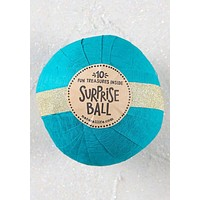 Surprise Ball in Turquoise