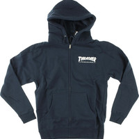Thrasher Skate Mag Zip Hoody/Sweater Medium Navy