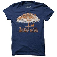 Toomer's Oak Tree Tee in Navy by One 10 Threads
