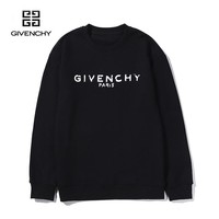 Givenchy classic fashion simple wild round neck printing long-sleeved sweater