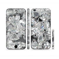 The Scattered Diamonds Sectioned Skin Series for the Apple iPhone6s Plus